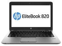 "HP EliteBook 820 G1 12.5"" (256GB, Intel Core i5 4th Gen., 1.6GHz, 8GB) A Grade"