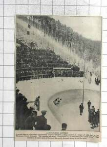1931 Bobsleigh Contest At Oberhof In The Thuring Forest Germany