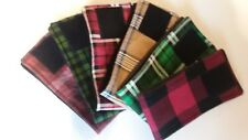 3 Dog Belly Bands, Mad For Plaid Male Dog Diaper, Clothes,Training,Housebre aking