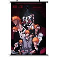 "Bleach Kurosaki Ichigo Anime Silk Poster Wall Scroll 18.5""x30"" 003"
