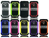Dual Layer Hybrid Hard Case For Samsung Galaxy Ace 2 II-X GT-S7560M
