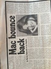 H1h Ephemera 1976 Original Article fleetwood mac bounce back