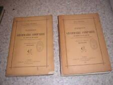 1895.grammaire comparée du grec et du latin / Paul Regnaud.2/2.envoi autographe