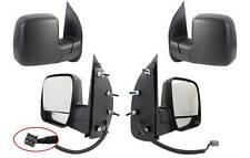 NEW PAIR DOOR MIRRORS FIT FORD ECONOLINE E-150 E-250 E-350 E-450 E-550 2002-2007