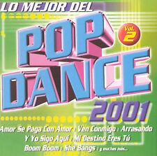 Various Artists : Mejor Del Pop Dance 2001 2 CD
