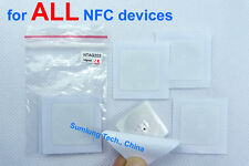 10 NTAG203 NFC Tag Sticker for ALL Android Samsung HTC LG Sony Xiaomi ZTE HUAWEI