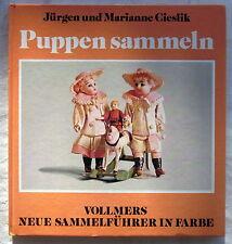 Buch (s) - PUPPEN sammeln - Jürgen und Marianne Cieslik