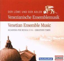 """DER L""""WE UND DER ADLER: VENETIAN ENSEMBLE MUSIC NEW CD"""
