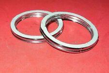 2 pack Exhaust Gaskets Honda VTR250 CB400 CM400 CB450 CM450 VT500 TRX250