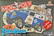 MPC Monopoly '33 Willys Panel Van Plastic Model Kit #MPC924M 1:25 Scale