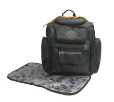 Harley-Davidson® Bar & Shield Black Backpack Diaper Bag w/ Changing Pad 7150877
