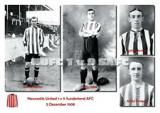 The Sunderland AFC Collection - NUFC 1 v 9 Sunderland AFC, 5 December 1908