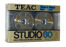TEAC Studio/60G metal tape & metal reel vintage audio cassette blank new rare!