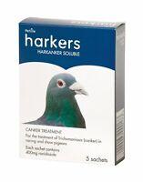 5 x 400mg Harkanker Racing Pigeon Supplement, Reduce Canker In Your Birds