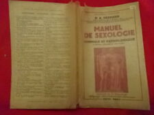 HESNARD (Dr A.) - Manuel de sexologie.