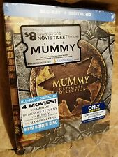 THE MUMMY ULTIMATE COLLECTION Blu-Ray 4-Movie Set Best Buy Limited Ed. STEELBOOK
