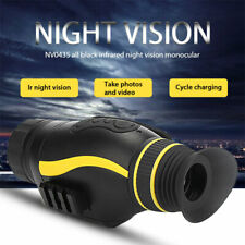 Night Vision Infrared Thermal Vision Multifunction 4X35 Night Vision Monocular D
