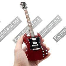 Mini Guitar 1:4 ANGUS YOUNG acdc miniature model gadget chitarra gitarren ac/dc