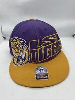 LSU Tigers '47 Forty Seven Brand Raise The Bar Snapback Script Hat NCAA