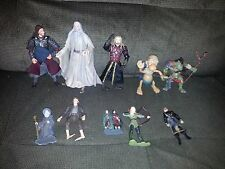 LORD OF THE RINGS  LOTR  FIGURES SET -  FIGURINES COLLECTIBLES