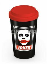 TRAVEL MUG THE JOKER THE DARK KNIGHT BATMAN BRAND NEW TEA OR COFFEE DRINKS