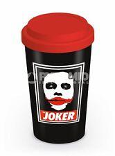 TRAVEL MUG THE JOKER THE DARK KNIGHT BATMAN BRAND NEW TEA OR COFFEE DRINKS