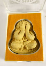 TEMPLE BOXED PHRA PIDTA BUDDHA AMULET FROM WAT BANG PHRA TEMPLE THAILAND