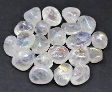1 Angel Aura Quartz Tumbled Stone Crystal Healing: Clear Quartz Platinum Bonded