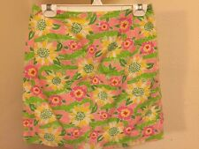LILLY PULLITZER CROC MONSIEUR LINED SKIRT SZ 6