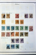 MALAYA STRAITS SETTLEMENTS 1867-1945 183 STAMPS  VARIETIES  CANCELS !