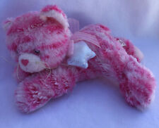 Milly Pink Stripey Cat, Soft Toy