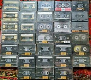 Über 40 Kassetten maxell Konvolut Sammlung