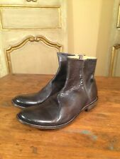 New Bed Stu Bench Made Side Zip Slip On Mens  Boots Shoes Size 13