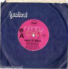 "DARYL BRAITHWAITE - YOU'RE MY WORLD - 7"" 45 VINYL RECORD - 1974"