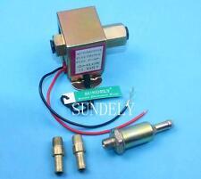 12V Standard Facet Universal Electric Fuel Pump Metal for Petrol & Diesel 4-6PSI