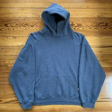 Vintage Russell Athletic Slate Gray XL Hoodie Sweatshirt 90s Rare Vanta Tech