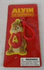 ALVIN AND THE CHIPMUNKS 20th CENTURY FOX 2011 RUBBER KEY CHAIN & FOB NEW SEALED