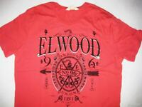 **NEW**ELWOOD** red tshirt - sz M, L mens RRP$59.95