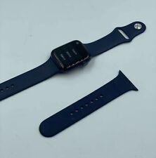 Apple Watch Series 6 GPS 44mm Aluminum Case Deep Navy Sport Band - Blue
