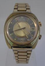 Vintage Gold Plated 1970s OMEGA Seamaster Memomatic Watch - Ticks & Stops (A53