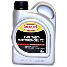 5 x Meguin 4880 Megol Zweitaktmotorenöl TC, 1 L API TC ; ISO L-EGB ; JASO FB  #