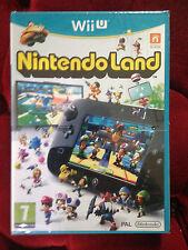 NINTENDO LAND NINTENDOLAND Nintendo Wii U WIIU  PAL VF ++ 100% NEUF ++ Jeu