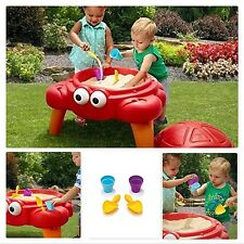 Sandbox Sand Table Kids Toddler Play Outdoor Toys Box Beach Activity Toy Set