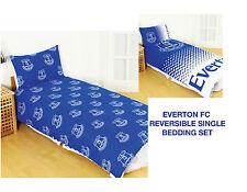 EVERTON FC DUVET PILLOW CASE QUILT COVER SINGLE BOYS CHARACTER EFC BEDDING SET