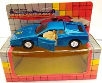 SUPERIOR RACERS 2 DIECAST SPORTS CAR - BLUE - BOXED