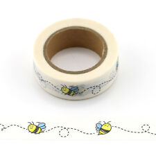 Bees Washi Masking Tape Bee Themed Craft Decorative Tape