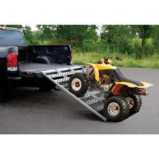 ATV Ramps Pickup Truck Loading Motorcycle Lawn Mower Aluminum Discount UTV Auto