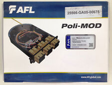 AFL Global Communications Poli-MOD Blank Fibre Optic Patch and Splice Module PM