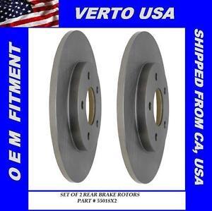 Rear Brake Rotors For Chevrolet Monte Carlo 1995 1996 1997 1998 1999