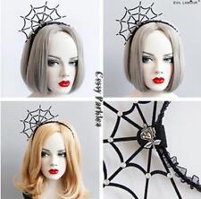 Adult Vampire Witch Ghost Spider-Net Headband Halloween Costume Accessories